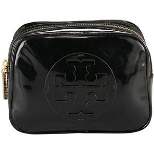 Tory Burch cosmetic bag.  I put most of my make-up in this!