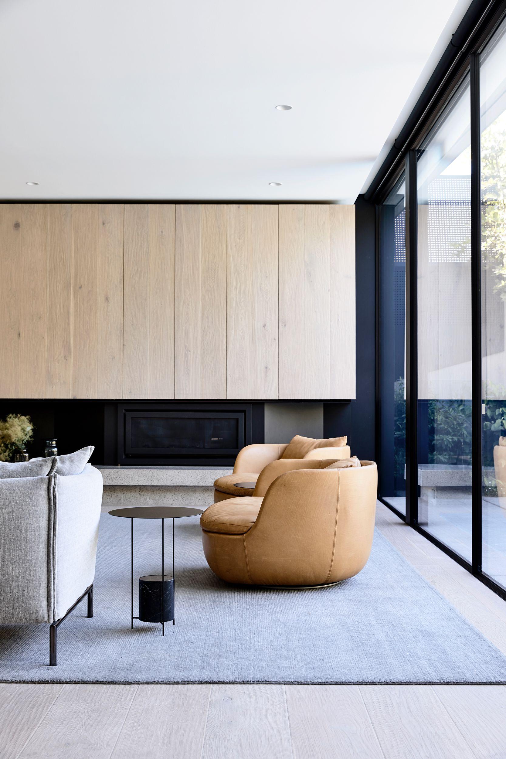 John Matyas Architects Elwood House Melbourne Living