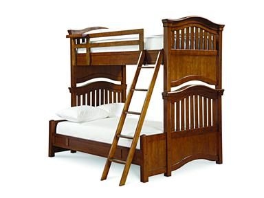 Shop for Smartstuff by Universal Twin-Full Bunk Bed, 1311590, and other Youth Bedroom Beds at Woodley's Furniture in Colorado Springs, Fort Collins, Longmont, Lakewood, Centennial, Northglenn. As smart as a perfect grade point average with timeless styling and traditional Louis Philippe details, Classics 4.0 features softened edges with lapped drawers, round wood knobs and stylized bun feet.