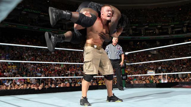 John Cena vs. Mark Henry - WWE Championship Match: photos | John ...