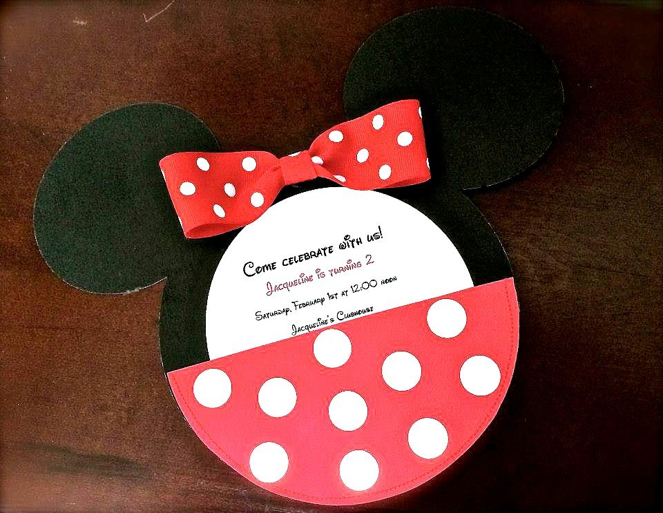 Mickey Mouse Invitations | Party | Pinterest | Mickey mouse ...
