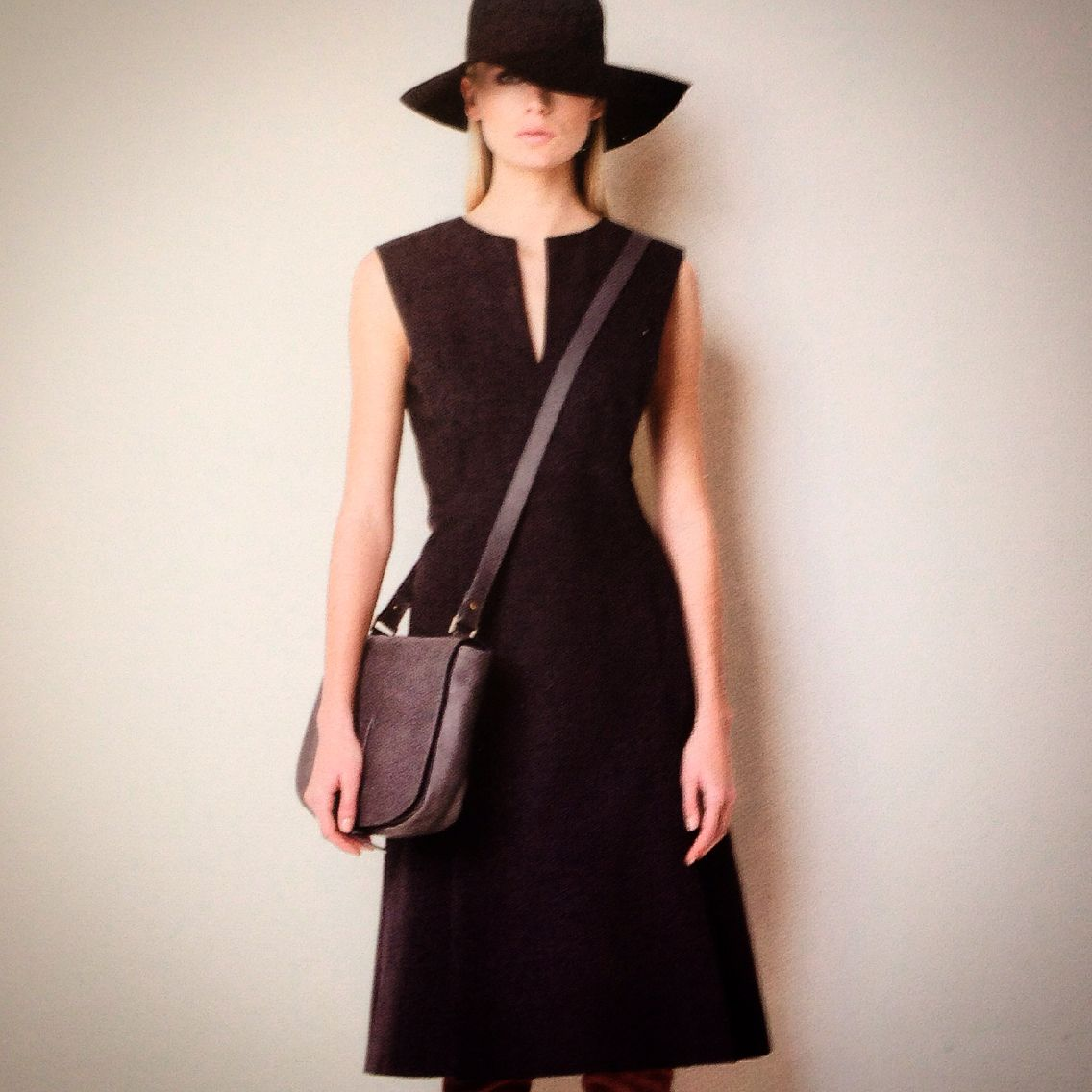 Black dress by SPACE. For night and day