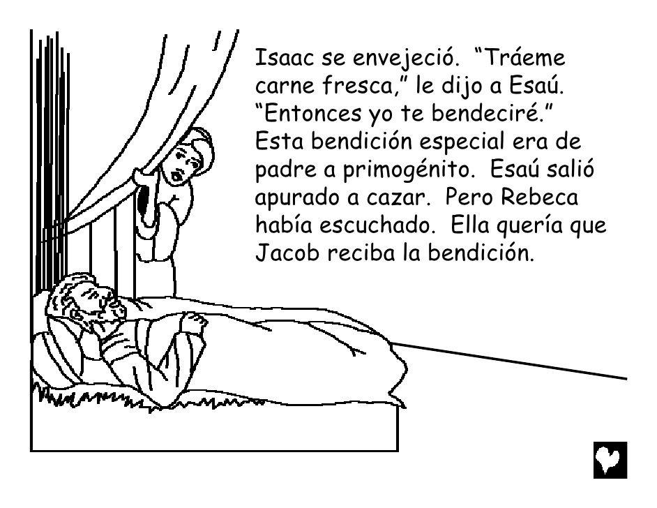 Jacob the deceiver spanish cb | Sunday school | Pinterest | Spanish ...