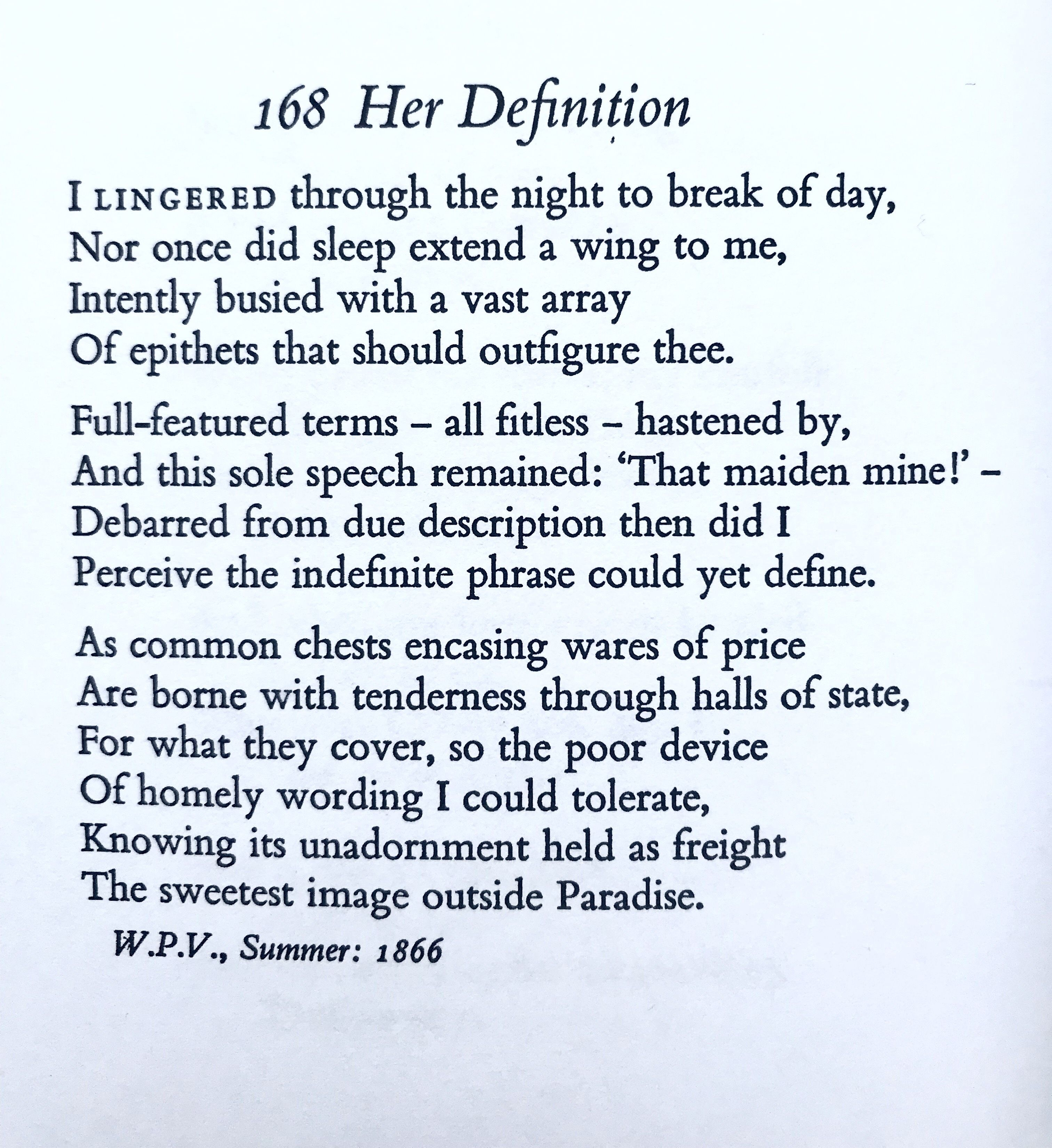 Poem Her Definition Thoma Hardy Quote Poetic Devices The Dawn Awake Explanation