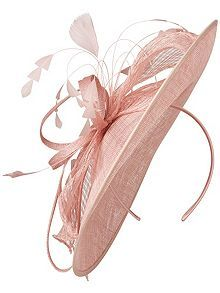 House Of Fraser Phase Eight Lorna Disc Fascinator, £59.