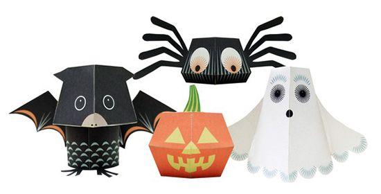 print your way towards Halloween Pinterest Paper toys, Halloween