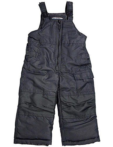 b34d12e00 London Fog Little Boys Bib Snowpant Black 340084   Check out the ...