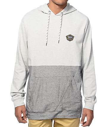 6b6224411f6c You don t need to flay your arms and yell to get noticed, just show up in  the stylish look of the Volcom Noise hoodie. A clean light grey upper  accents a ...