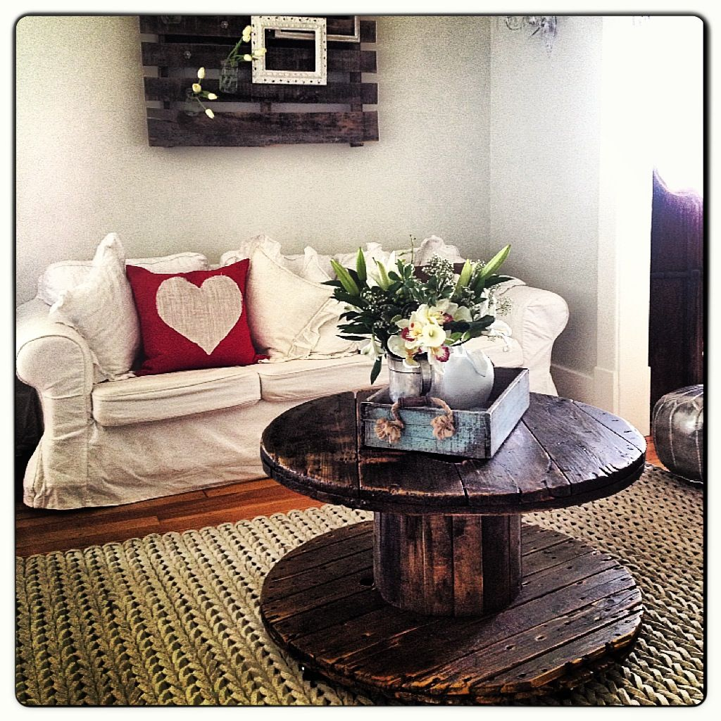 spool coffee table. turned out great!!!! www.facebook/bvintage