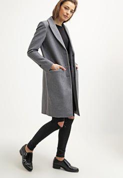 Selected Femme - SFCONSTRACT - Frakker / klassisk frakker - light grey melange
