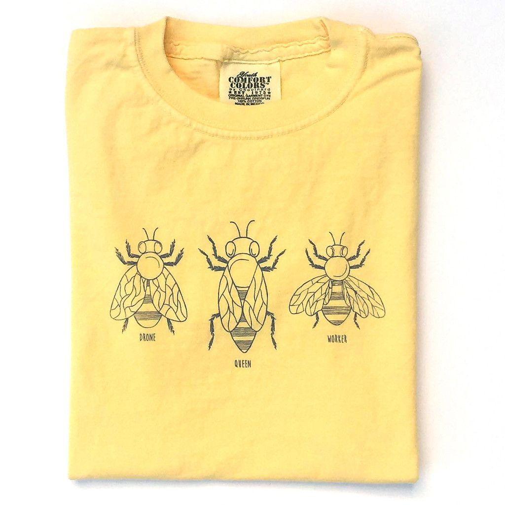 Honey Bees Long Sleeve Tee