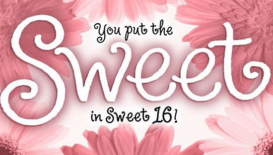 Sweet 16 birthday card by sherry seely redbubble love sweet 16 birthday card by sherry seely redbubble bookmarktalkfo Gallery