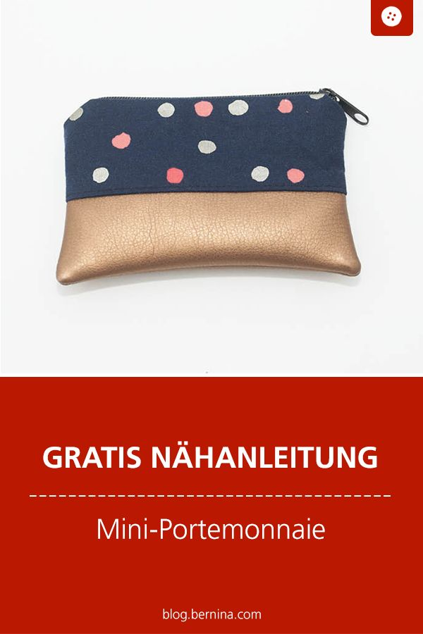 Photo of Nähanleitung: Mini-Portemonnaie nähen » BERNINA Blog