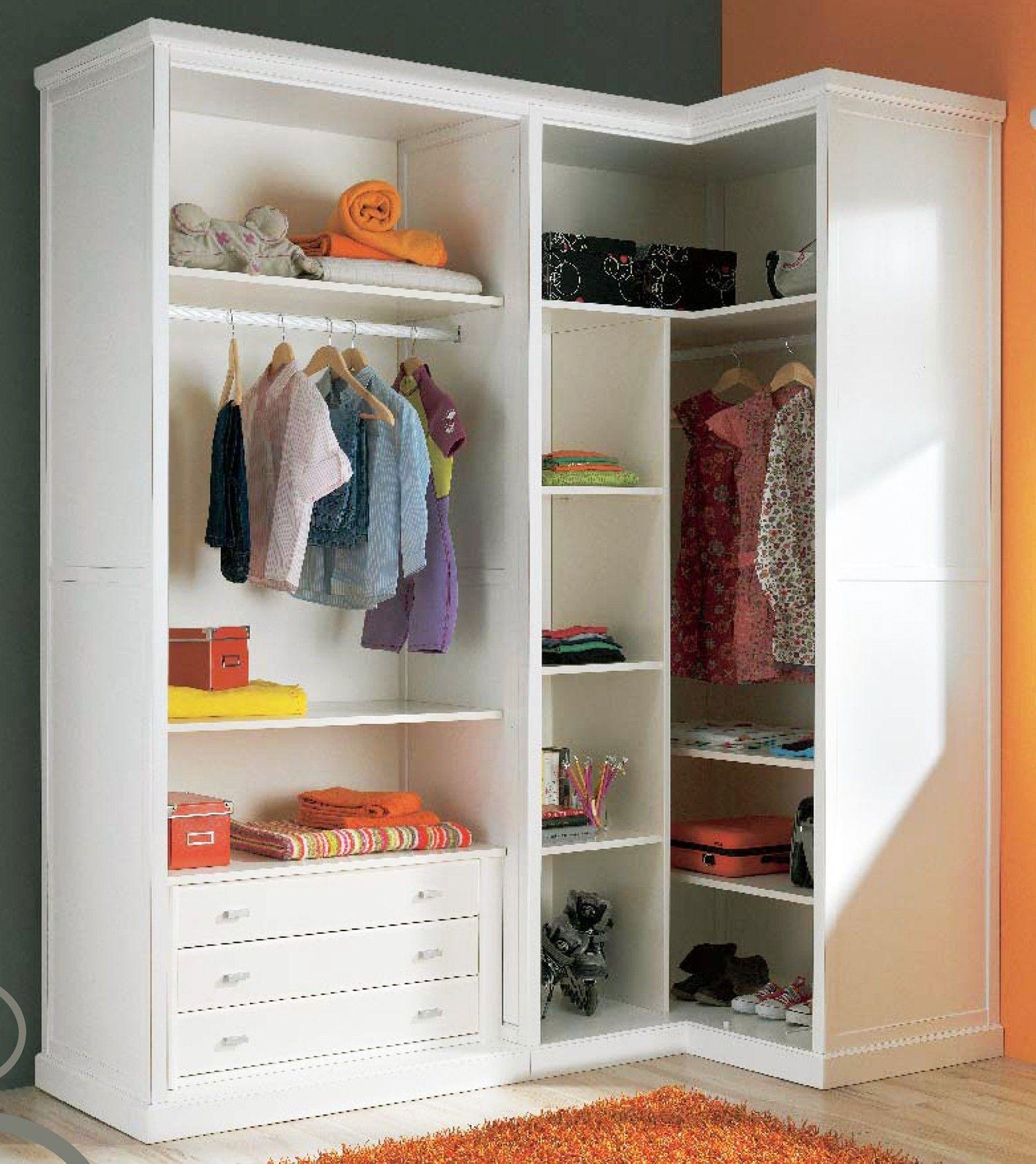 Muebles de habitaci n juvenil con cama nido y armario de for Distribucion habitacion juvenil