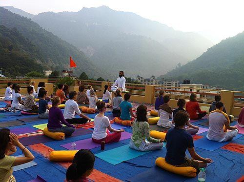 Yoga in Anand Prakash Yoga Ashram