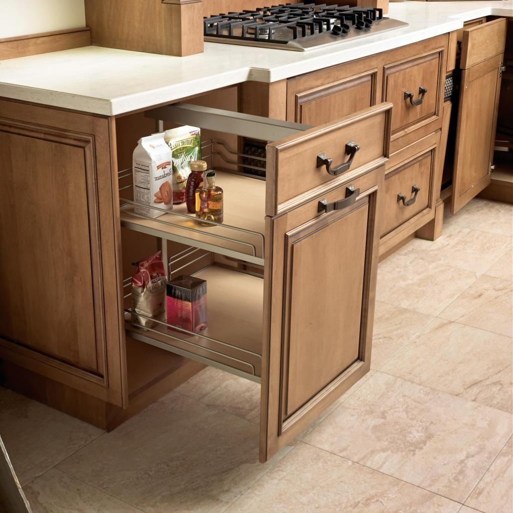 Storage Ideas for a Kitchen Corner   drawhome.com ...
