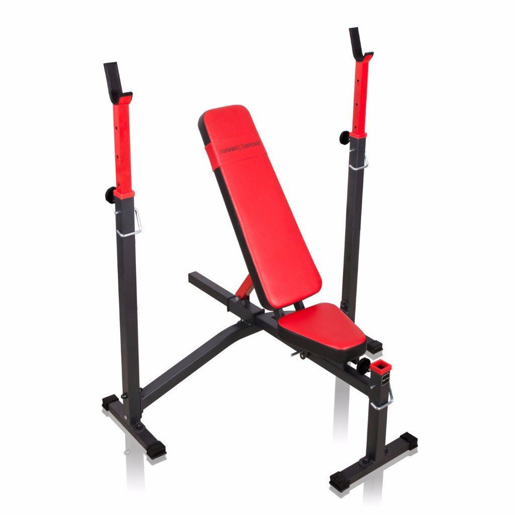 Weider 2980 Home Gym With 214 Lbs Of Resistance: Adjustable Flat Bench Press And Shoulder Press