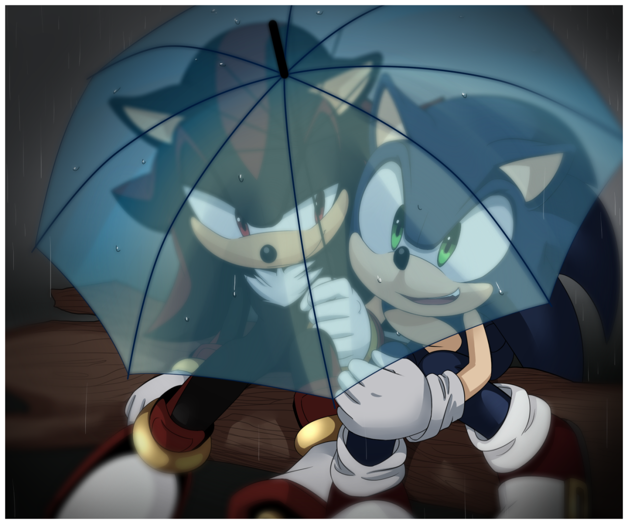 Sonic and Shadow are my favorite characters of all time ('= I'll be posting drawings of them every...