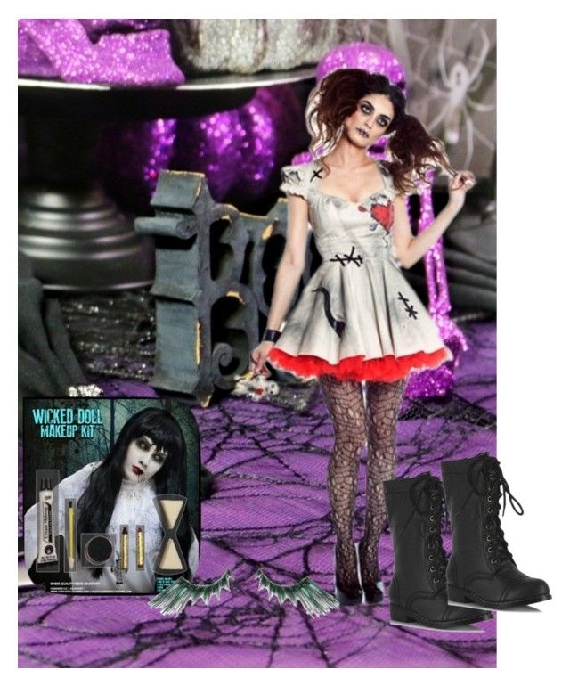 """""""Happy Halloween"""" by bricks6897 ❤ liked on Polyvore featuring halloweencostume, fall2015 and Halloween2015"""
