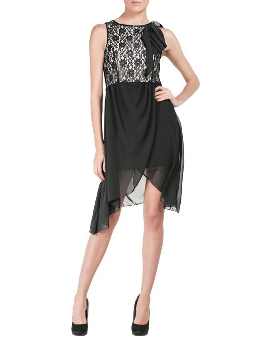 Abito #bustier #lacy #lace #skirt #chiffon #party #collection #fashion #holiday #christmas
