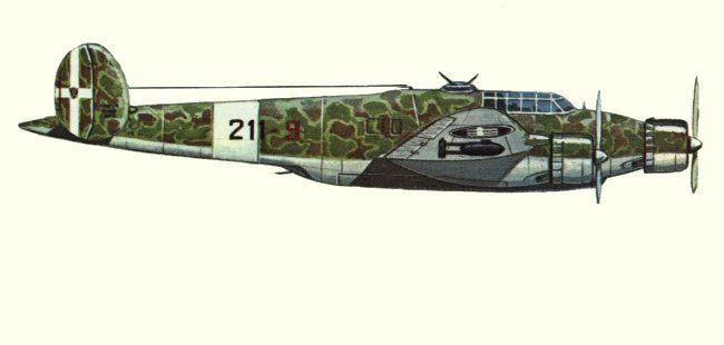 Cant Z.1007 Alcione - Bombardiere Medio della Regia Aeronautica  progettato da Filippo Zappata e costruito dalla  CRDA CANT nel 1937. Entrato in servizio attivo nel 1939.