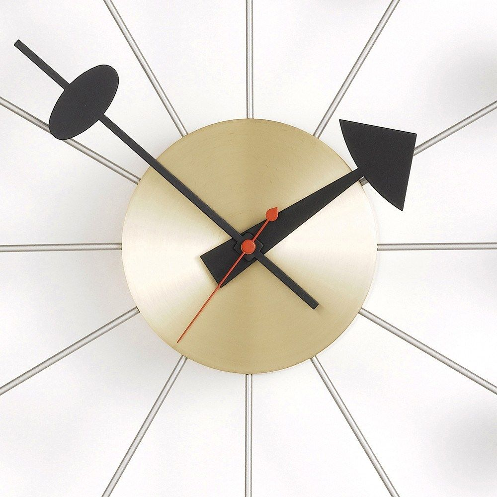 This Design Classic Is A Fun And Iconic Piece Of Art Vitra Ball Clock Design By George Nelson In 2020