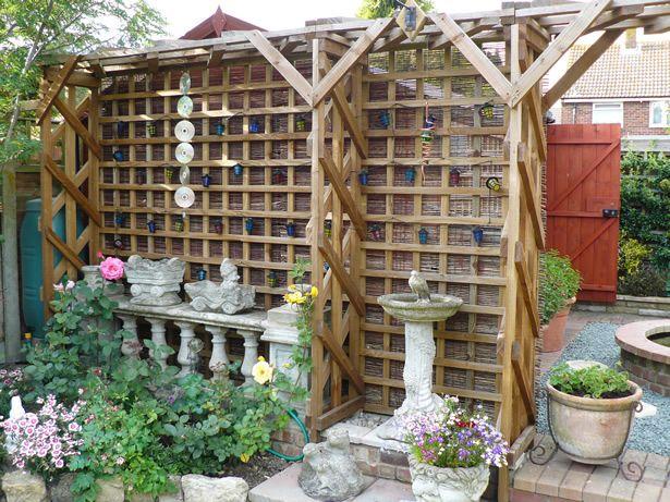 Gardens · Wood Trellis ...