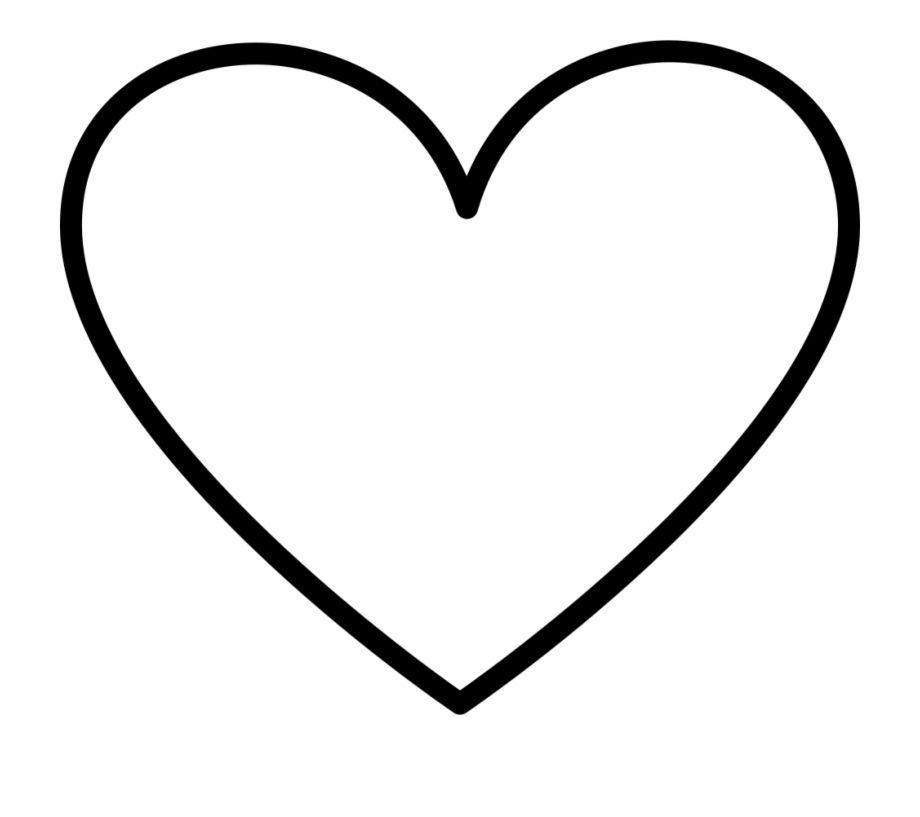 Pin By Gabby Ramseier On Ink Heart Outline Heart Outline Png Instagram Heart