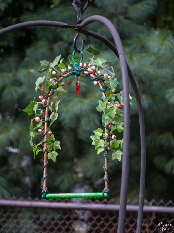 How To Make A Whimsical Hummingbird Perch