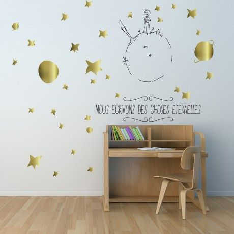 Sticker mural le Petit Prince - Alfred & compagnie | Chambre d ...