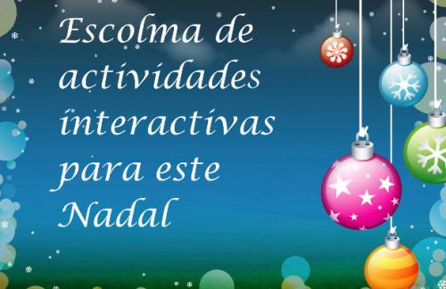 ESCOLMA DE ACTIVIDADES DE NADAL