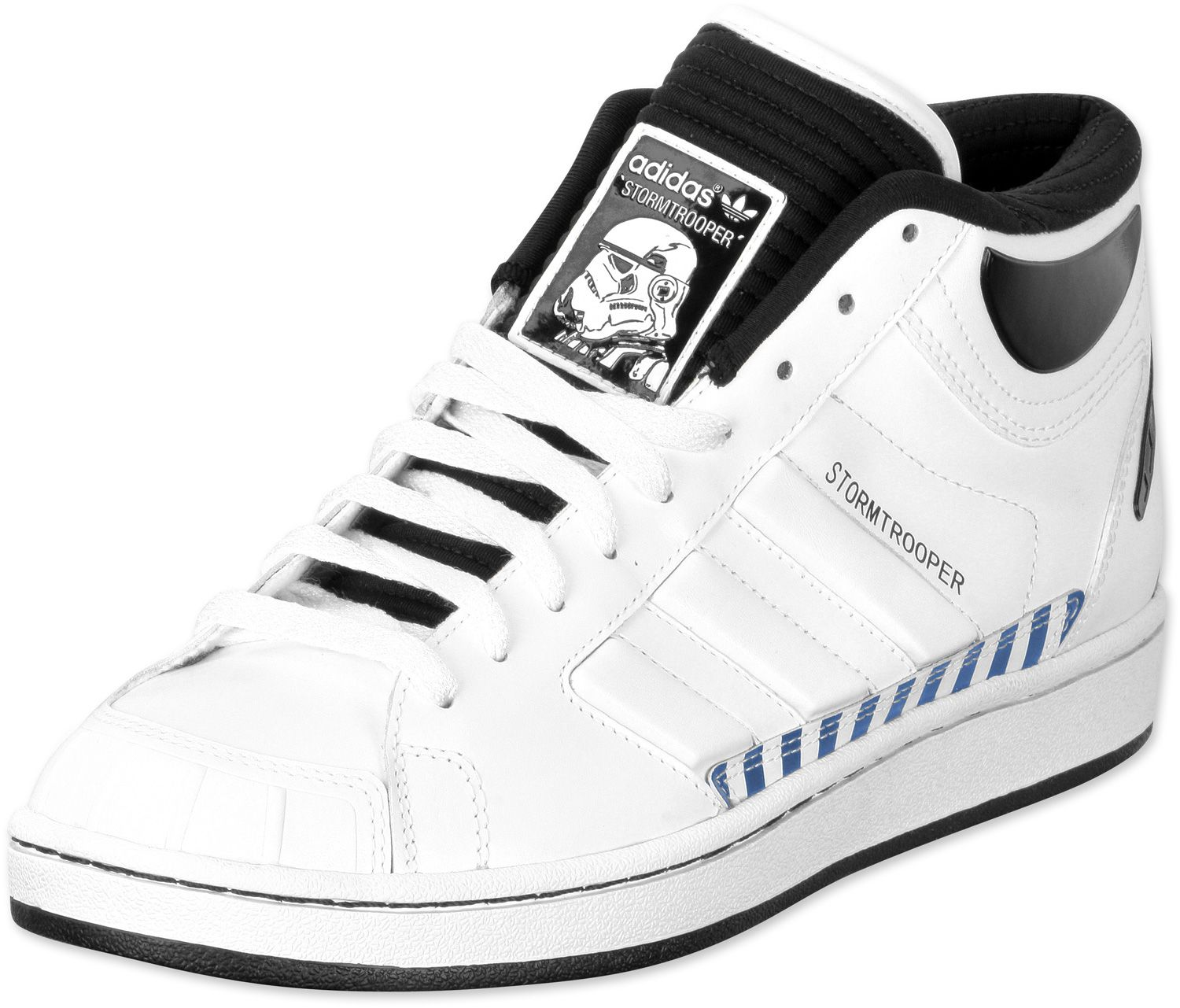 online store bd191 56bc8 Star Wars Adidas Stormtrooper Shoes