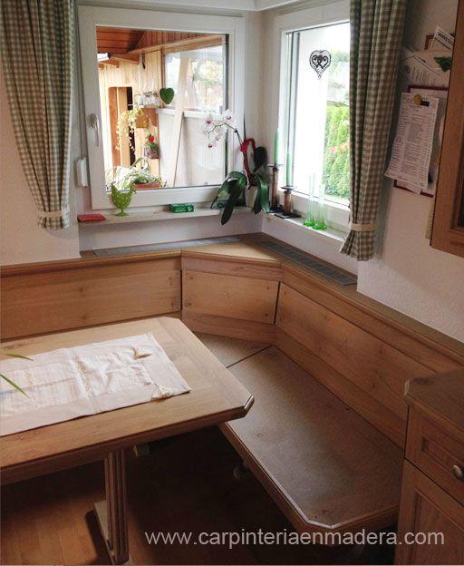 Mueble esquinero para cocina realizado por Alpis, carpinteria en