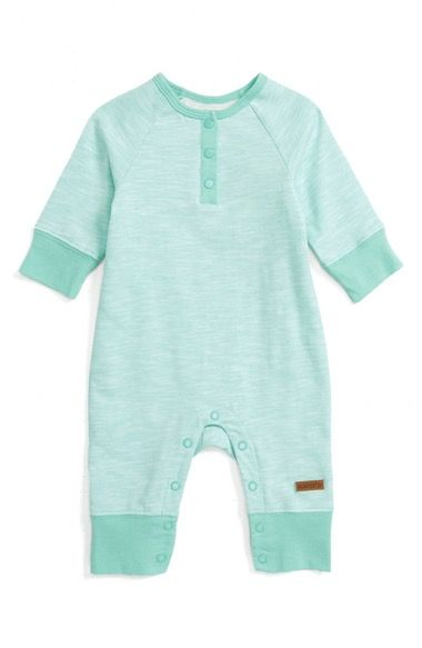 32e7b12c9746 Robeez® Dream Big Little One Henley Romper (Baby) available at ...