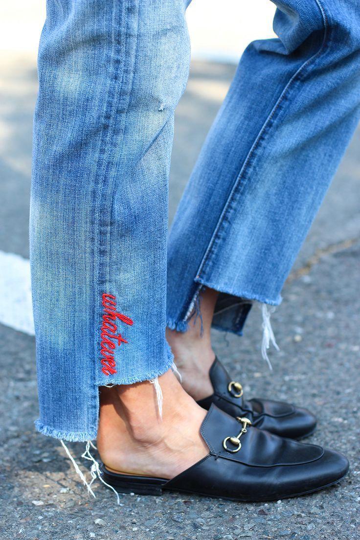 Diy denim embroidery in denim pinterest denim jeans and