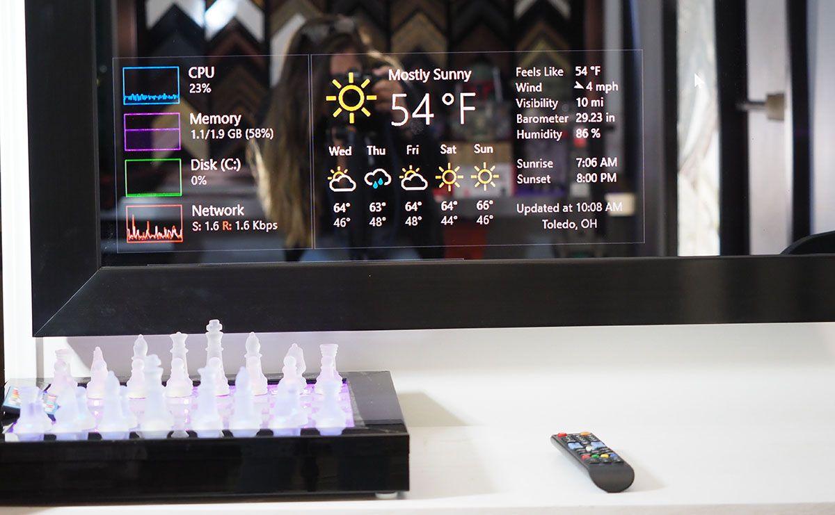 Diy bathroom smart mirror 2020 inspired by max braun