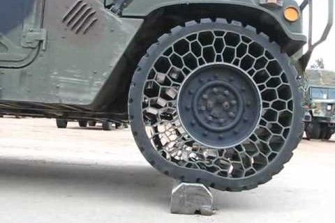 Testing Humvee Airless Tires