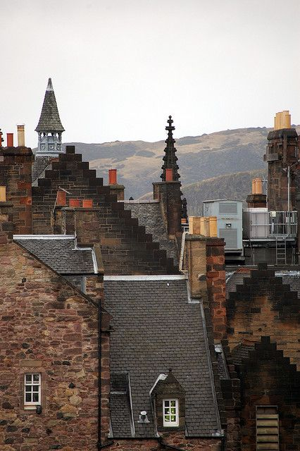 Buildings from castle | Flickr - Photo Sharing! Edimburgh