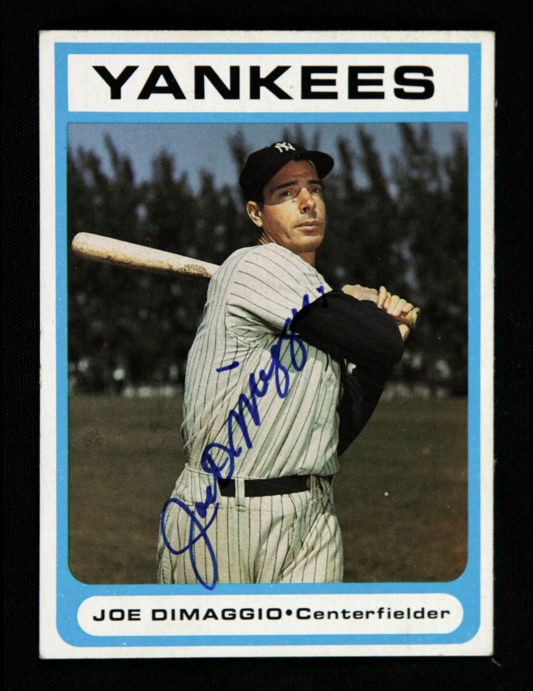 Joe Dimaggio Baseball Cards 1987 Joe Dimaggio New York