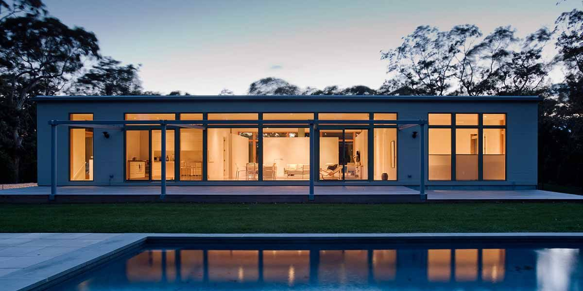 factory-built panels etc: A selection of timber frame homes and