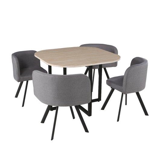 2019Camaïeu Chaises Melo Bleus Table4 Boisbleu De En Salon 6fyYb7gv