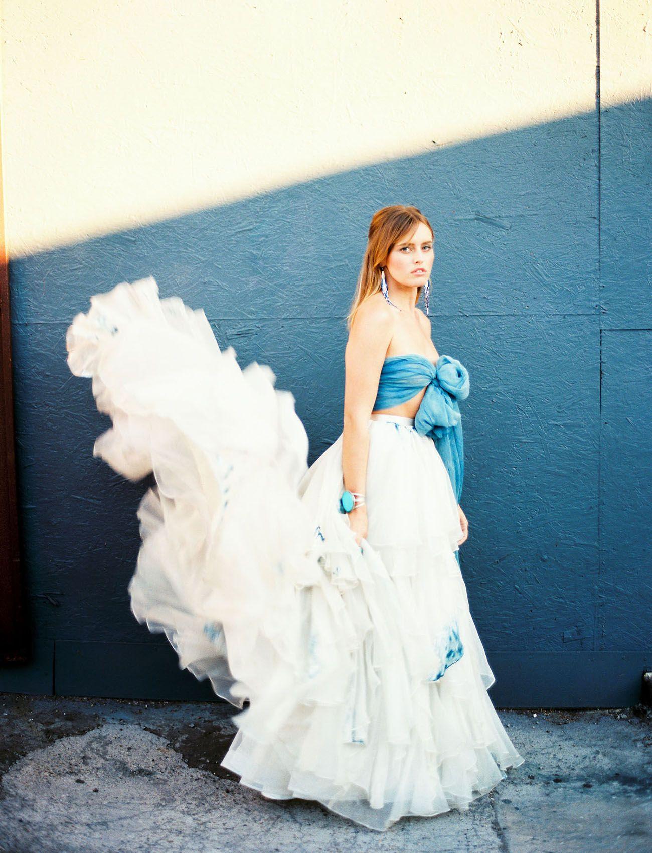Abstract Art Bridal Inspiration: Abstract Art Wedding Dress At Websimilar.org