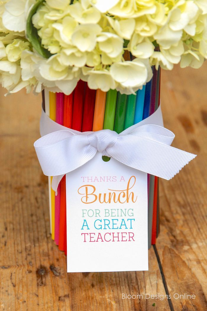 """Thanks a """"BUNCH"""" Teacher Appreciation Gift with free ..."""