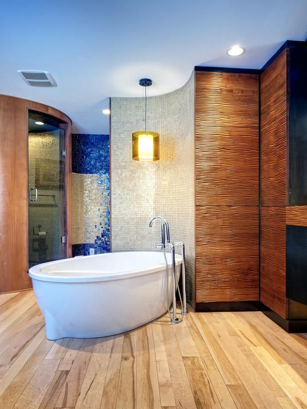 The Bathroom Wall Ideas For Beautifying Your Bathroom: Our Top Luxury Baths Featured On HGTV.com