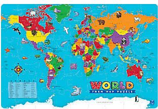 Educational insights world foam map puzzle geography made easy educational insights world foam map puzzle geography made easy from educational insights gumiabroncs Choice Image