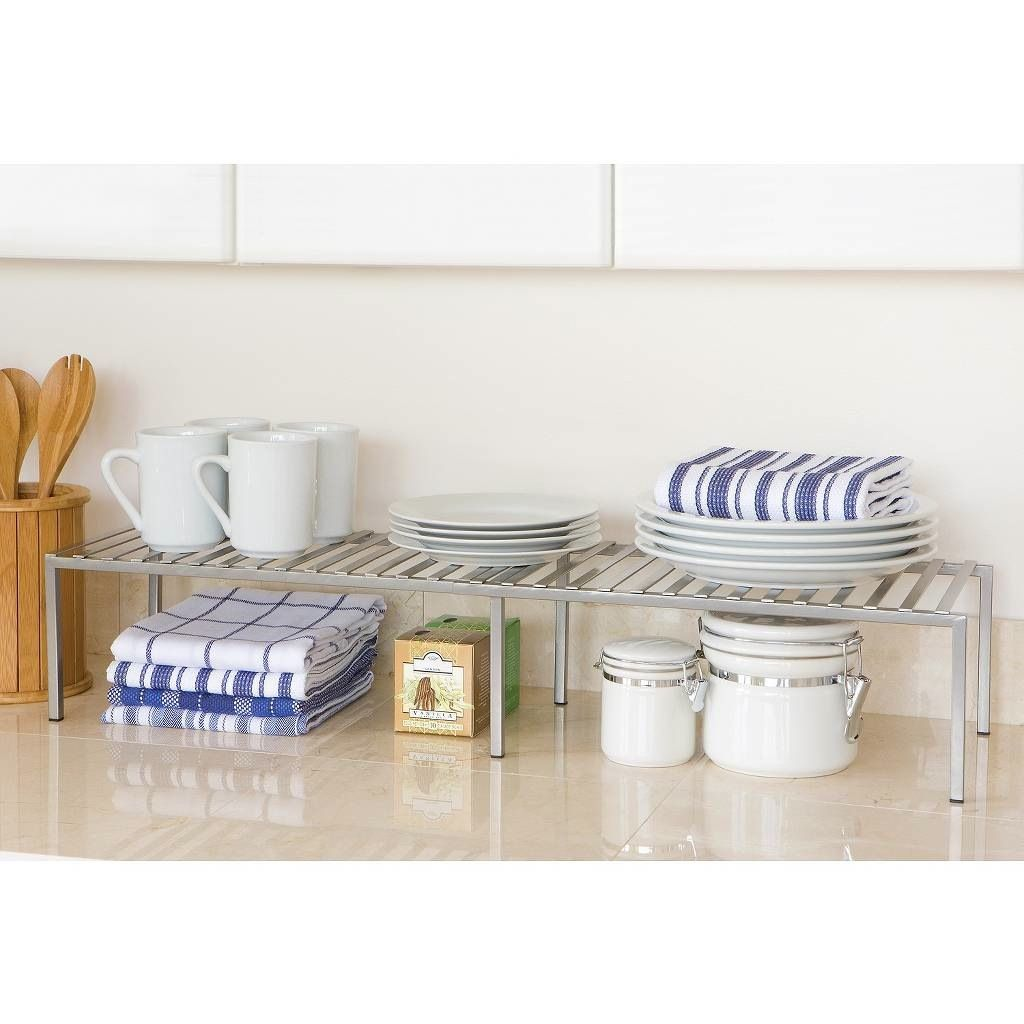 9 Products To Maximize Every Last Inch Of Your Cabinet Space Kitchen Cabinet Shelves Small Kitchen Cabinets Shelves