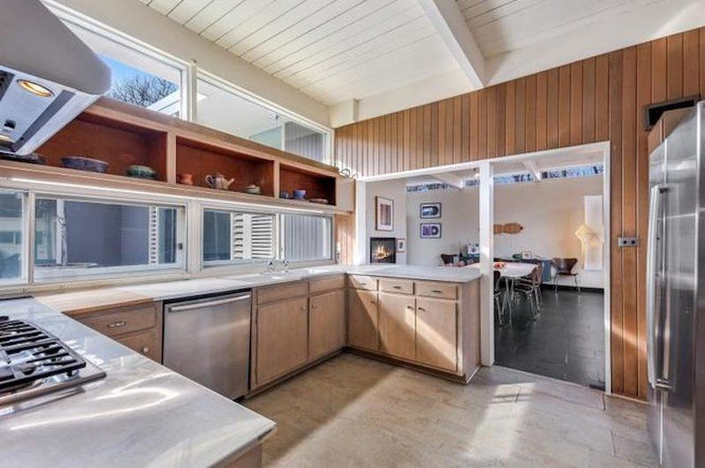 look inside a sharp keck keck midcentury for sale in highland park rh pinterest com