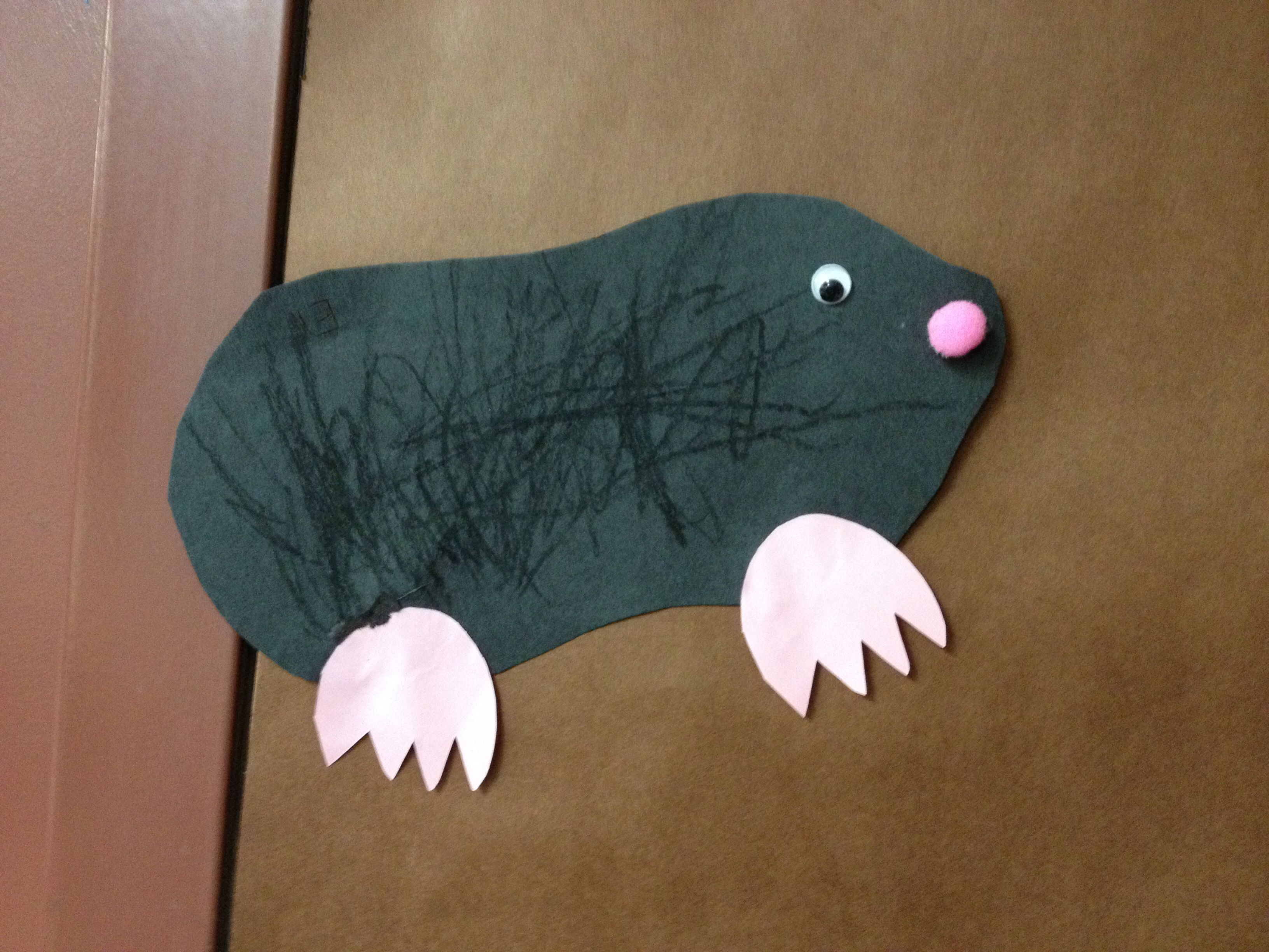 Mole Craft For Little Ones Pom Pom Noses