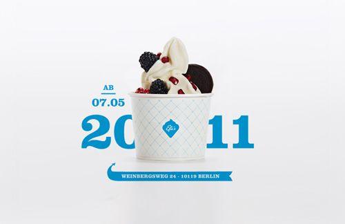 Transforming former German ice cream brand EFA, founded in 1949 in Amerang, Bavaria, into a heritage frozen yogurt brand. www.efas.de