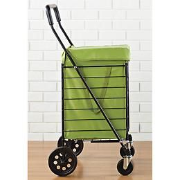 The Container Store > Black Steel Shopping Cart